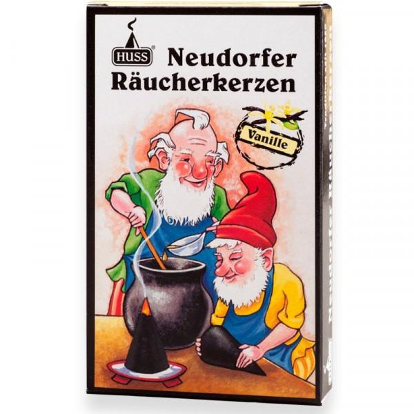 """Neudorfer Räucherkerzen """"Zwerge"""" Vanilleduft Original Erzgebirgische Räucherkerzen der Firma Huss"""