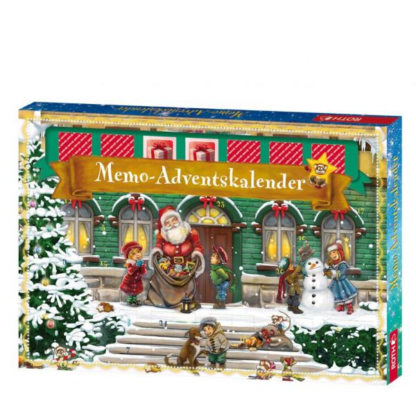 Memo-Adventskalender für Kinder
