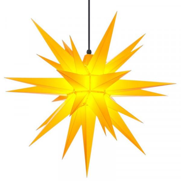 Herrnhuter Adventsstern Außenstern 68 cm Gelb