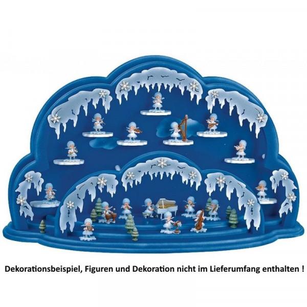 Beleuchtete Wolke für Schneeflöckchen - ohne Figuren