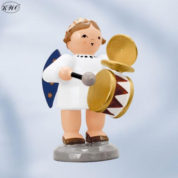 Engel mit Trommel / Schellen, 5 cm
