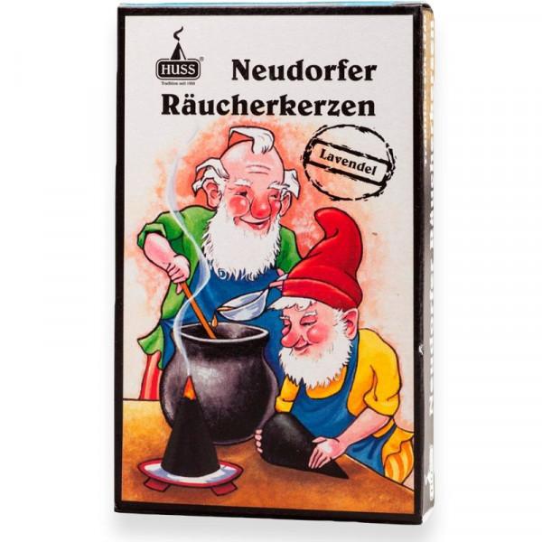 """Neudorfer Räucherkerzen """"Zwerge"""" Lavendelduft Original Erzgebirgische Räucherkerzen der Firma Huss"""