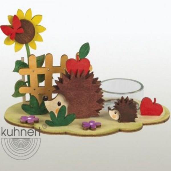 Bastelset Lichterhalter Herbst/ Igel