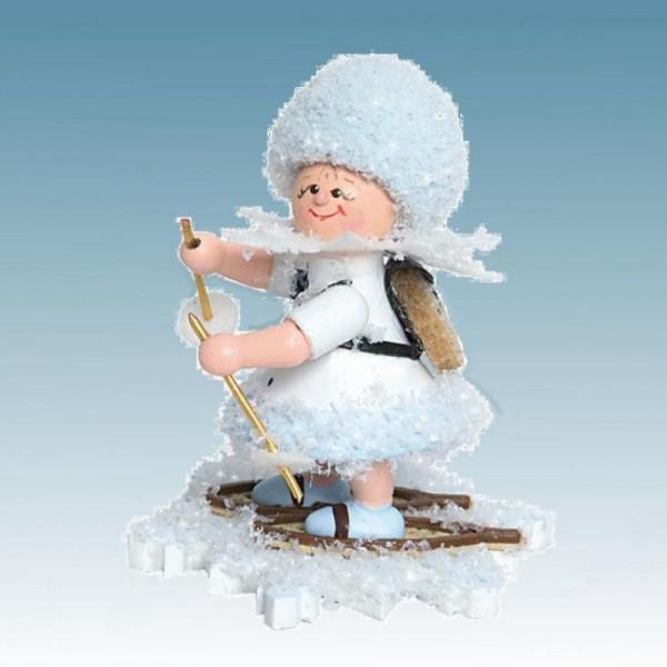 Schneeflöckchen Schneewanderer, Artikel 43117 Sammelfigur, Höhe ca. 5 cm