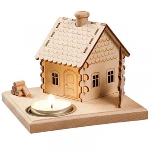 Saico Rauchhaus mit Teelichthalter