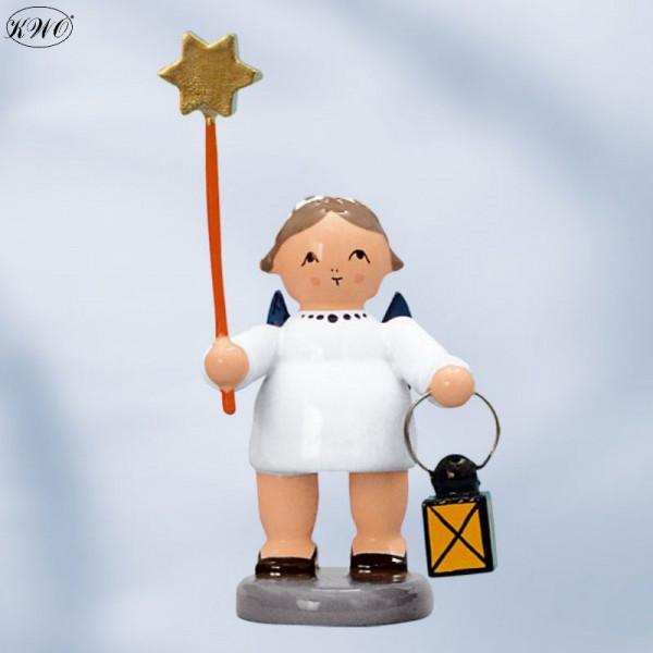 Engel mit Stern und Laterne, 5 cm
