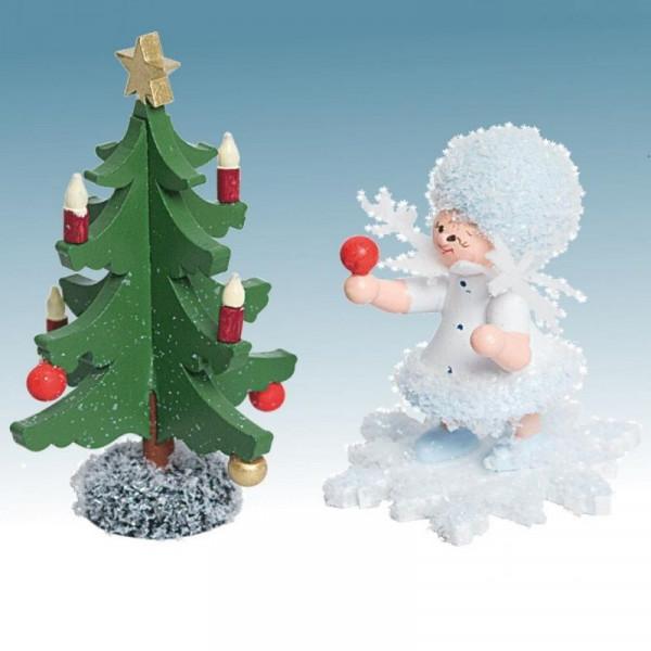 Schneeflöckchen mit Tannenbaum, Artikel 43110