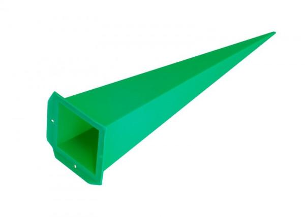 Einzelzacke A7 - Viereck, grün