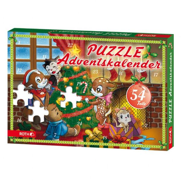 Puzzle-Adventskalender für Minis