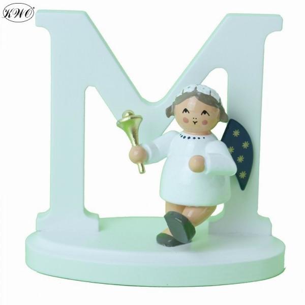 """Engel-Buchstabe """"M"""", 7 cm"""