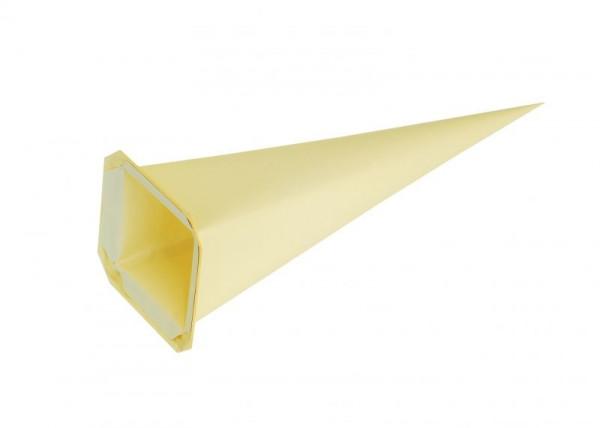 Einzelzacke I7 - Viereck, gelb