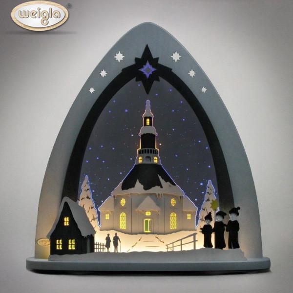 """Weigla LED Lichterspitze """"Seiffener Kirche"""""""