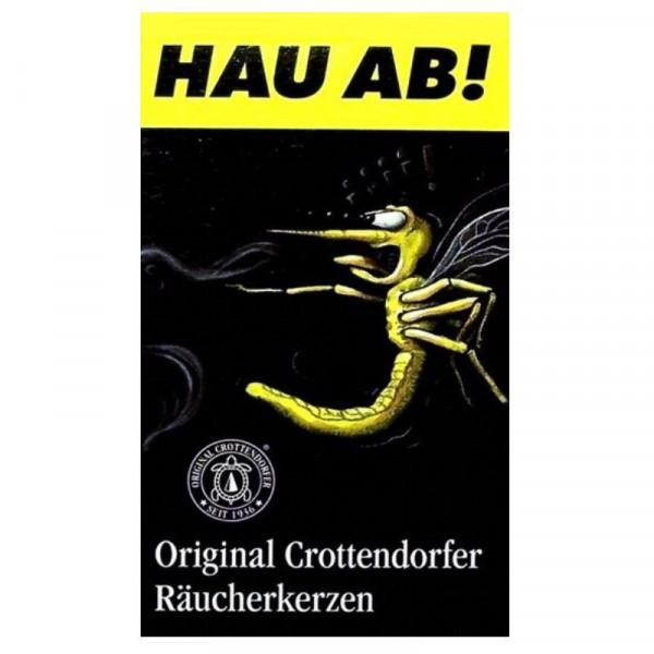 """Räucherkerzen """"Hau ab"""" klein 20 Original Crottendorfer Räucherkerzen"""