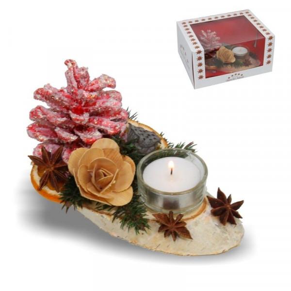 """Oppacher Advent Kerzen- Tischgesteck """"klein"""""""