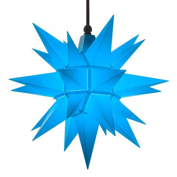 Herrnhuter Adventsstern Außenstern 40 cm Blau