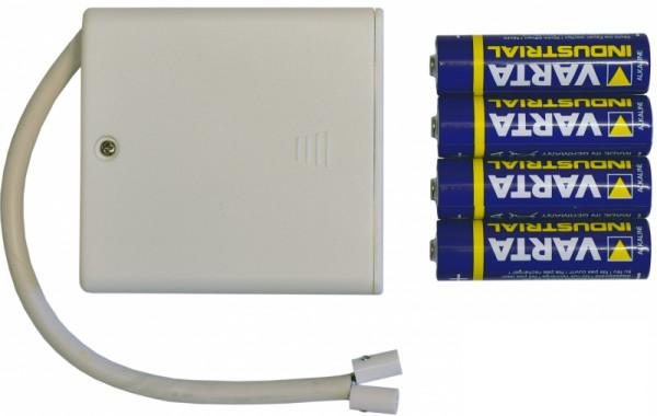 Batteriehalter für 1 Herrnhuter Ministern A1e / A1b Batteriehalter mit Batterien und Timer Funktion