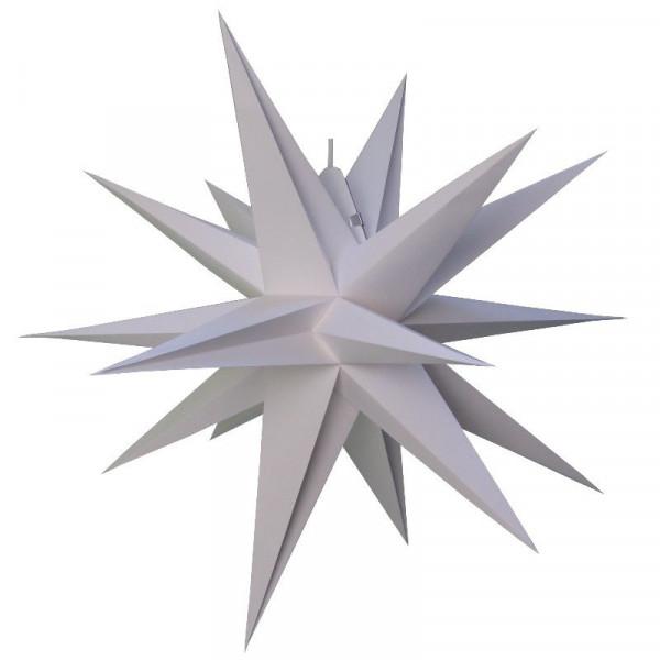 Annaberger Faltstern Nr. 7 (70 cm) weiß