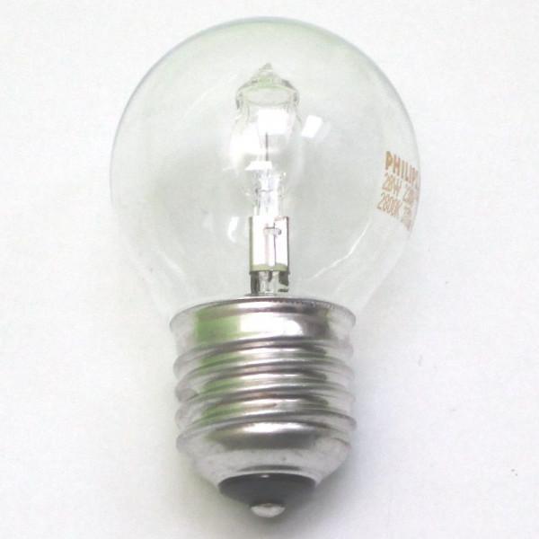 Tropfenlampe Halogenlampe E27, 30 Watt (entspr. 40 W) , klar