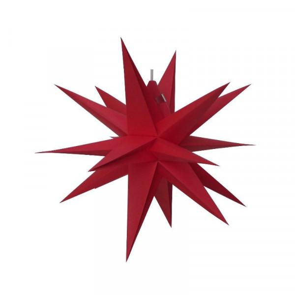 Annaberger Faltstern Nr. 3 (35 cm) rot Original Erzgebirgischer Faltstern aus Annaberg-Buchholz