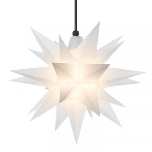 Herrnhuter Adventsstern Außenstern 40 cm Opal Kunststoffstern für Außen- und Innenbereich geeignet