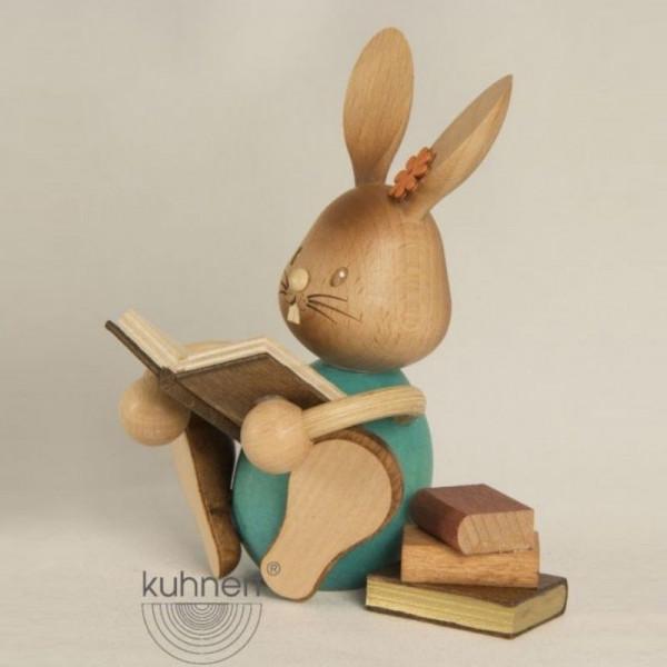 Stupsi Hase mit Büchern, Artikel 52210 Höhe ca. 11 cm