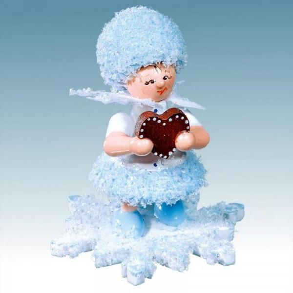 Schneeflöckchen mit Lebkuchenherz, Artikel 43051