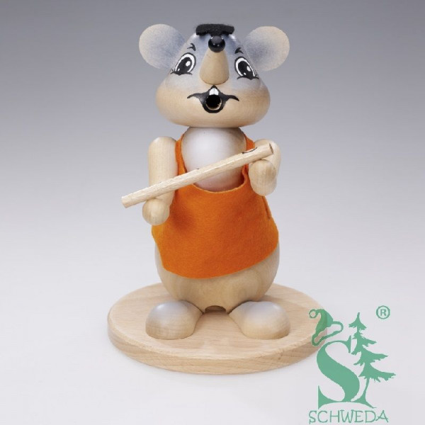 Familie Körnlein - Rauchfigur Maus ca. 18 cm
