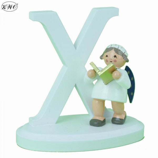 """Engel-Buchstabe """"X"""", 7 cm"""