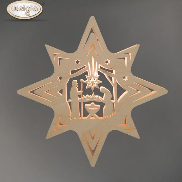 "Fensterbild Stern ""Christi Geburt"""