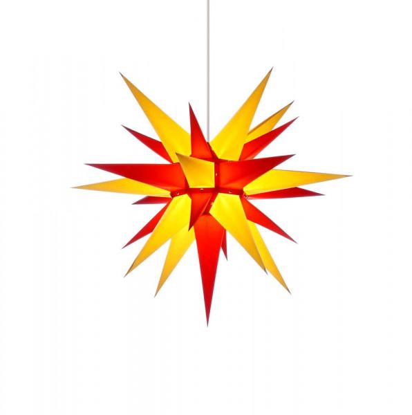 Herrnhuter Adventsstern I6 60 cm Gelb-Rot