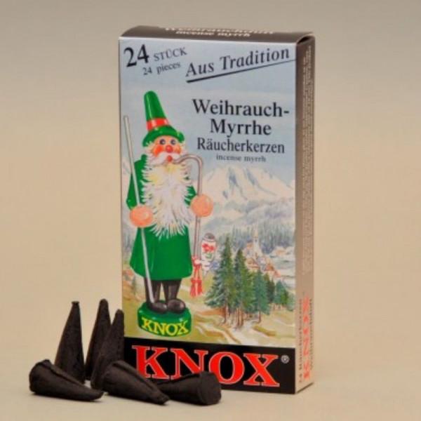 Räucherkerzen Weihrauch - Myrrhe