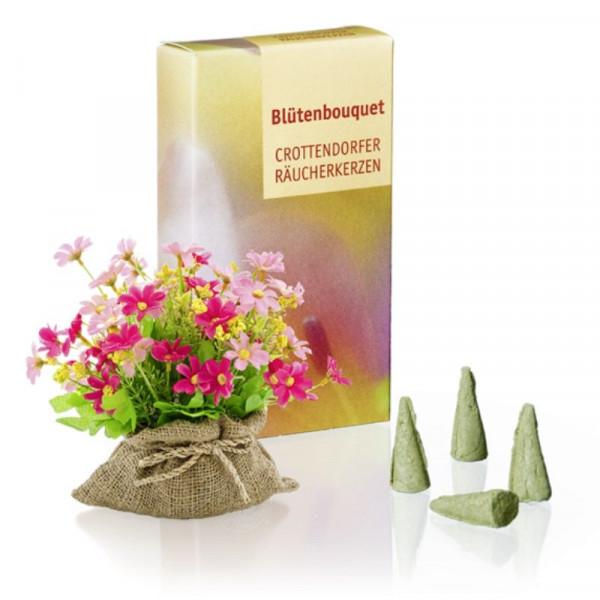 Original Crottendorfer Räucherkerzen - Blütenbouquet
