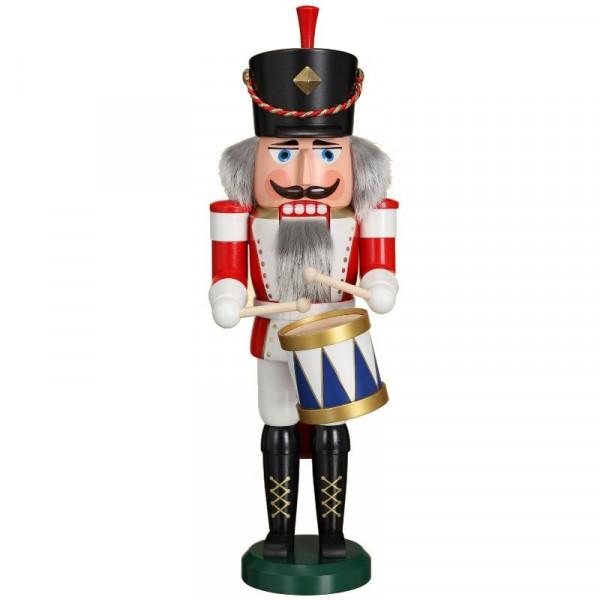 Nußknacker klassisch Trommler, 39 cm, NEUHEIT