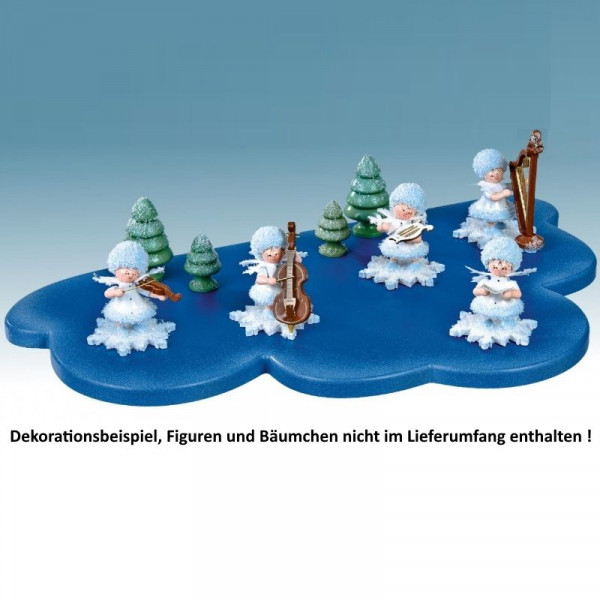 Wolke für Schneeflöckchen - 1 Etage mittel, Artikel 43022