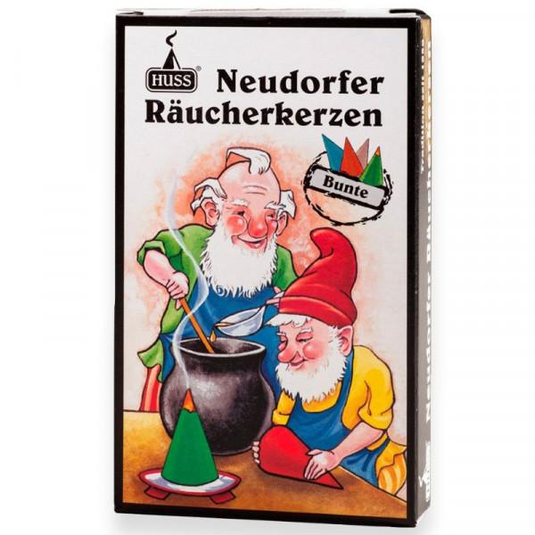 "Neudorfer Räucherkerzen ""Zwerge"" Bunte Mischung Original Erzgebirgische Räucherkerzen der Firma Huss"