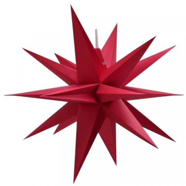 Annaberger Faltstern Nr. 7 (70 cm) rot