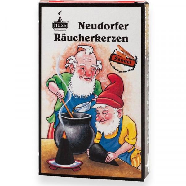 "Neudorfer Räucherkerzen ""Zwerge"" Sandelduft Original Erzgebirgische Räucherkerzen der Firma Huss"