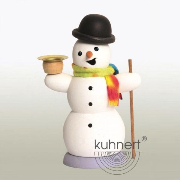 Räucherfigur Schneemann mit Kerze