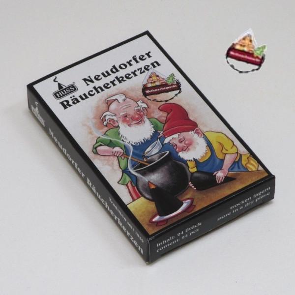 """Neudorfer Räucherkerzen """"Zwerge"""" Weihnachtsmarkt- Duft"""