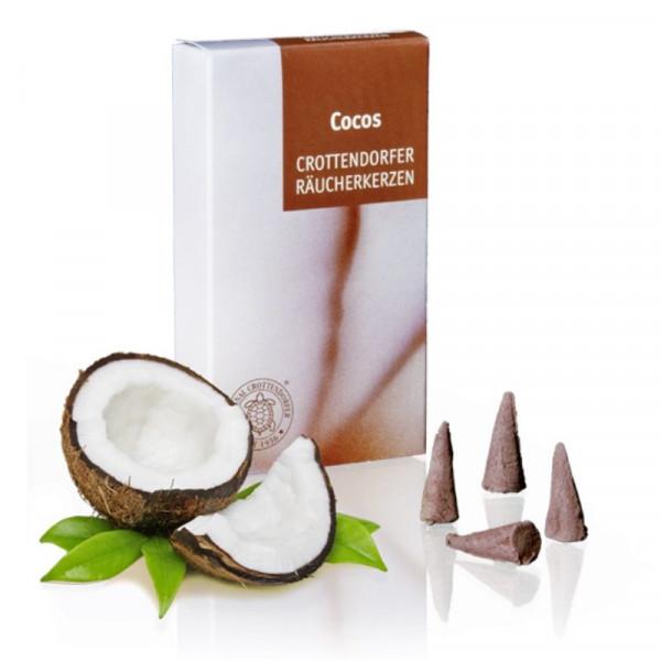 Original Crottendorfer Räucherkerzen - Cocos
