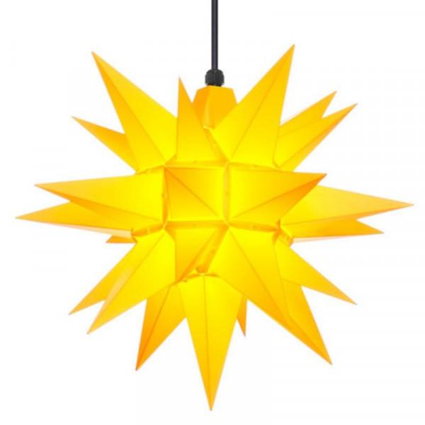 Herrnhuter Adventsstern Außenstern 40 cm Gelb Kunststoffstern für Außen- und Innenbereich geeignet