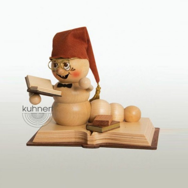 Erzgebirgische Räucherfigur Bücher-Rudi, Artikel 37000