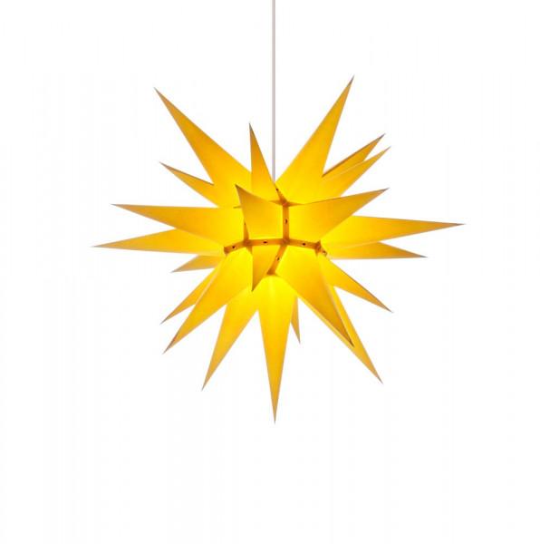 Herrnhuter Adventsstern I6, 60 cm Gelb