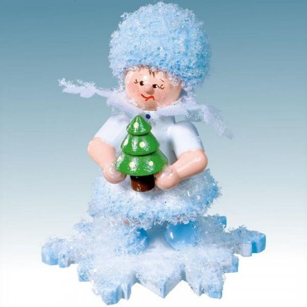 Schneeflöckchen mit Weihnachtsbaum, Artikel 43077