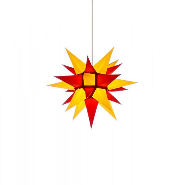 Herrnhuter Adventsstern I4, 40 cm Gelb-Rot
