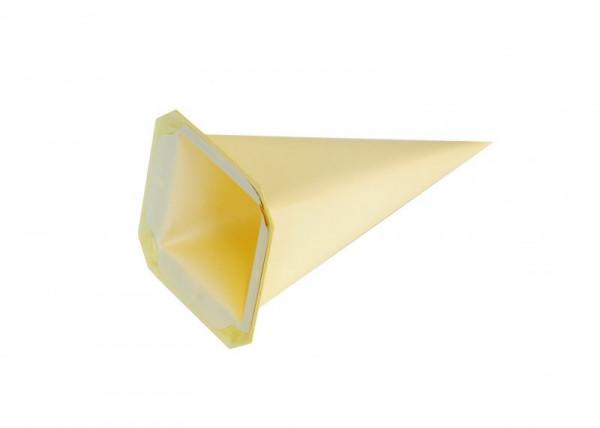 Einzelzacke I4 - Viereck gelb