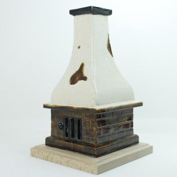 Saico Rauchofen- Räucherofen groß aus Keramik