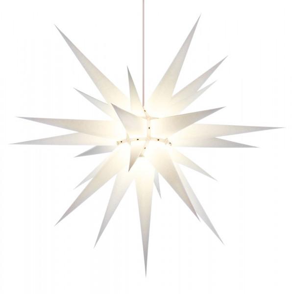 Herrnhuter Adventsstern I8, 80 cm Weiß