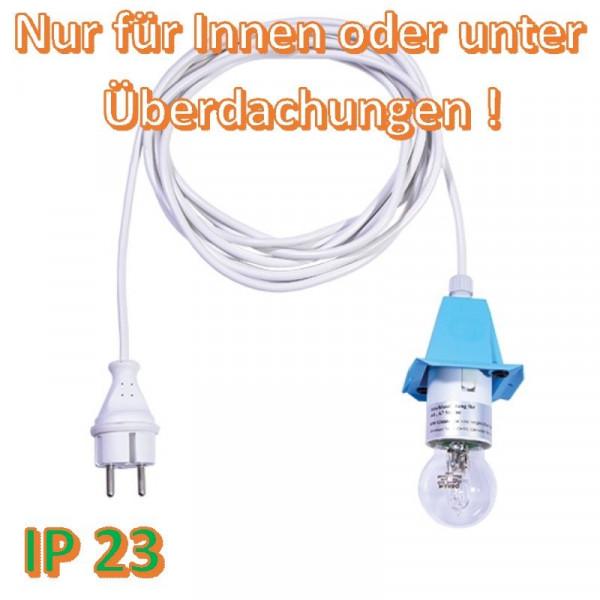 Weißes Anschlußkabel für Herrnhuter Außenstern A4/ A7 BLAU