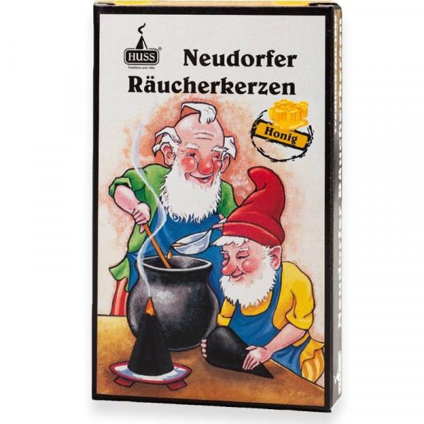 """Neudorfer Räucherkerzen """"Zwerge"""" Honigduft Original Erzgebirgische Räucherkerzen der Firma Huss"""